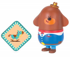 Duggee with Rocking Horse Badge