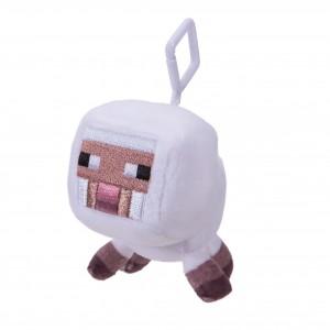 Mini Plüschfiguren mit Clip weißes Schaf
