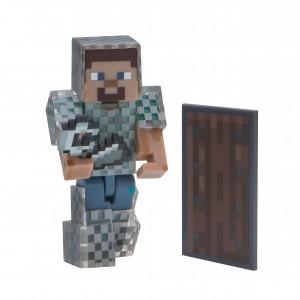 Steve mit Kettenrüstung