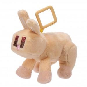 Mini Plüschfiguren mit Clip Hase