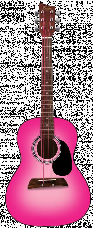 "36"" Acoustic Guitar - Pink"